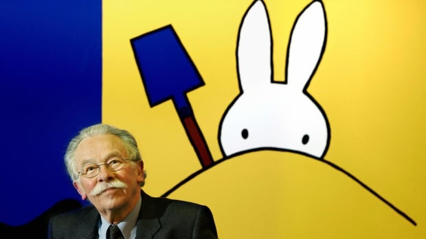 Illustrator Dick Bruna created 32 books about Miffy the rabbit, which were translated into more than 50 languages and sold more than 85 million copies.