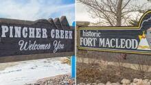 Pincher Creek Fort Macleod