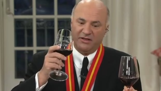 Kevin O'Leary was featured on an hour-long 'today special value' segment on American home shopping channel QVC Wednesday. O'Leary is also running to be leader of the Conservative Party.
