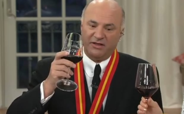 Kevin O'Leary wine