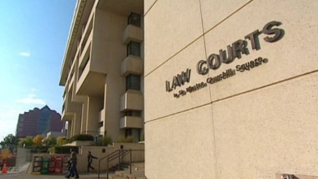 A man was seriously injured Friday in a shooting at the Edmonton Law Courts Building.