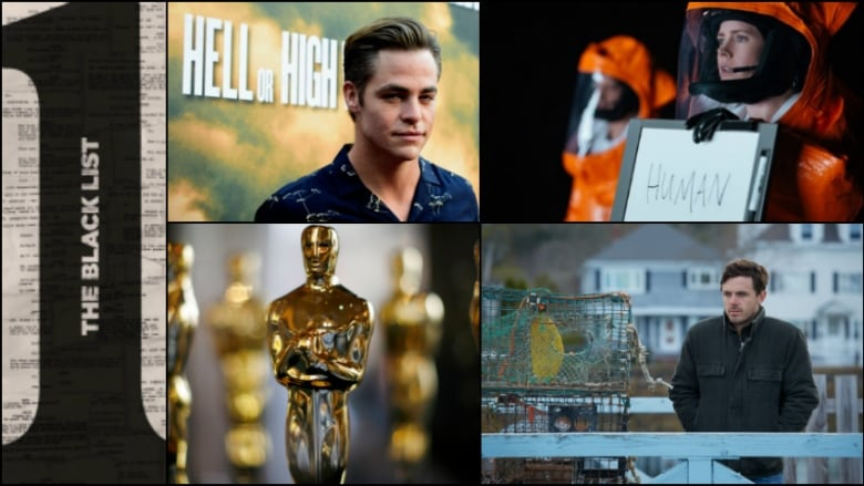 Black List 2017 Oscar Best Picture Nominees Collage