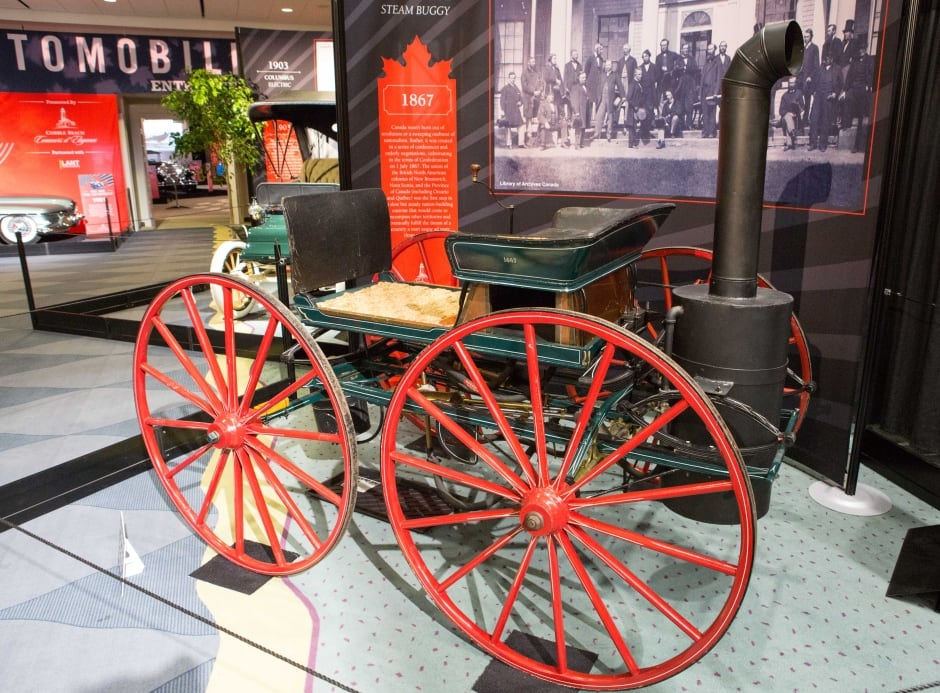 1867 Seth Taylor steam buggy