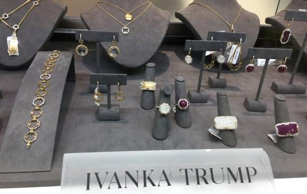 Ivanka Trump jewellery Hudson's Bay boycott