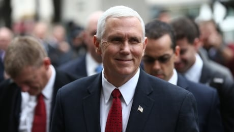 With greetings from Trump, Pence says U.S. committed to Europe