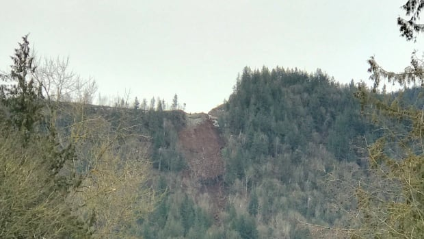 A small landslide in a rural part of Chilliwack has led to the evacuation of some homes in the area.