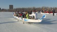 ice dragon boat festival dow's lake ottawa feb 18 2017