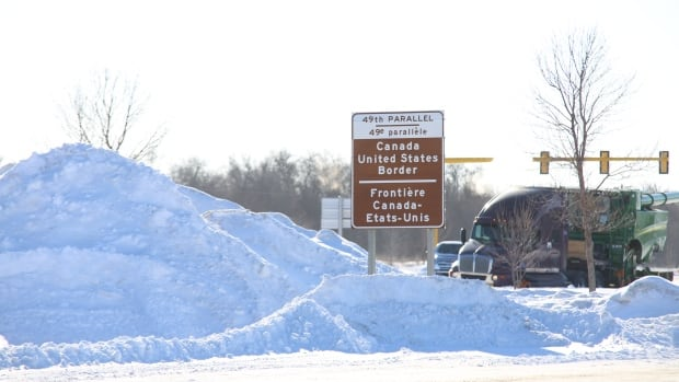 Dozens more asylum seekers walked into Manitoba near the Emerson border Sunday morning.