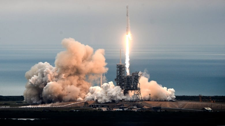 SpaceX launches rocket with supplies to International Space
