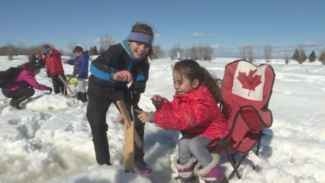 syrian refugee ice fishing ottawa feb 19 2017