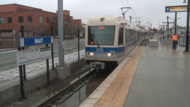 The Metro LRT line started running at full speed on Sunday.