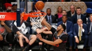 Anthony Davis breaks NBA all-star scoring record as West tops East