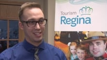 Kirk Morrison, director of events, conventions and trade shows with Tourism Regina