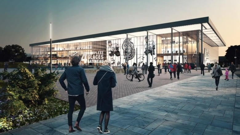 New gatineau arena would cost m be ready in cbc news