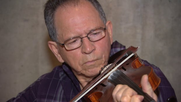 Métis musician Ivan Spence has been playing music for 45 years.