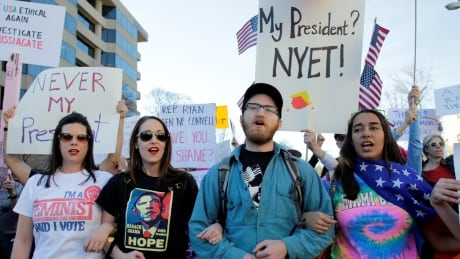 'Not My President's Day': Thousands participate in U.S. anti-Trump protests