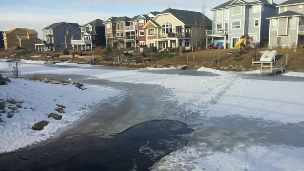 6 year old boy dies after falling through ice in Airdrie