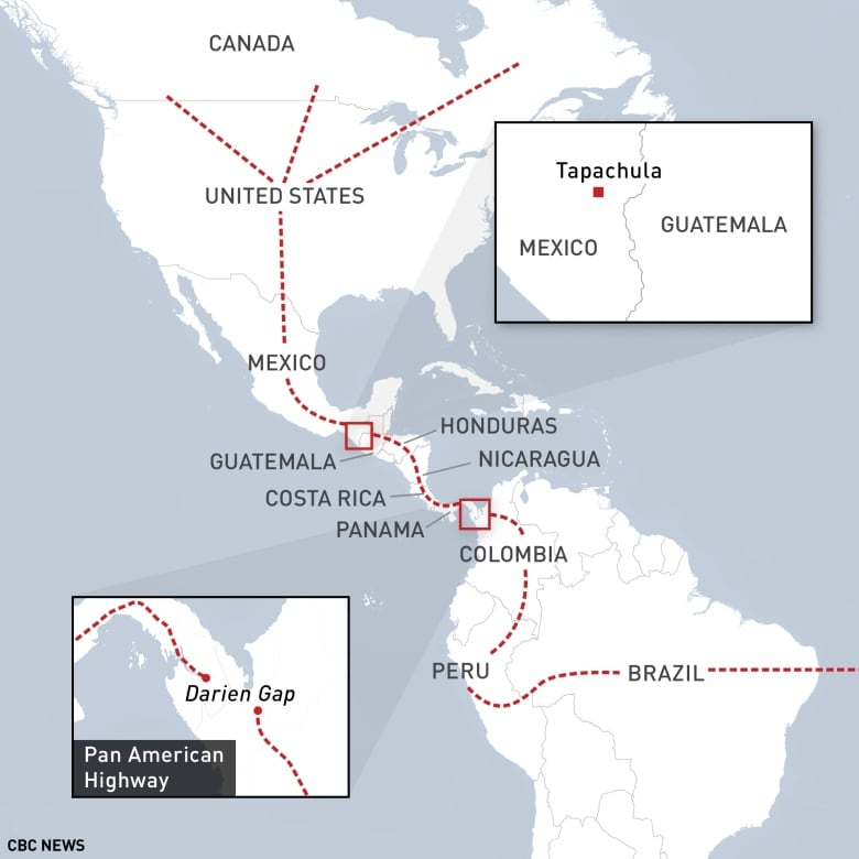 Central American corridor a dangerous route for migrants heading to ...