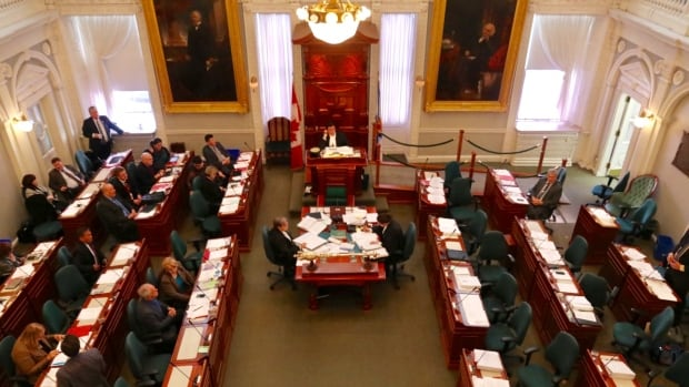 MLAs began the third and final reading of Bill 75 at 12:01 a.m. Tuesday, and debate went throughout the night and into the day.