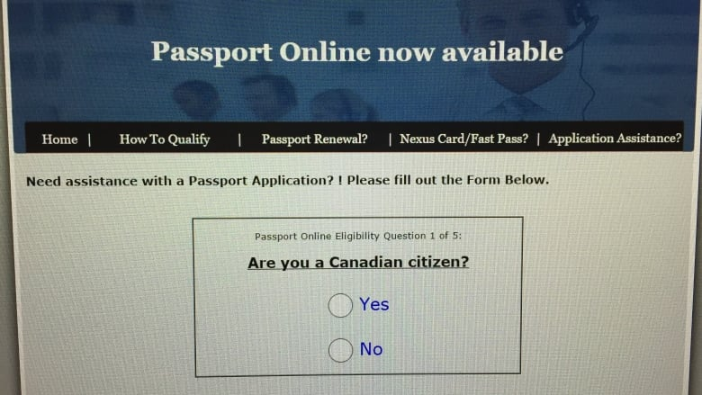 apply for a canadian passport renewal