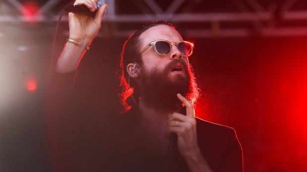 Joshua Tillman, known as Father John Misty, will release his new album, Pure Comedy, on April 7. (Photo by Jack Plunkett/Invision/AP)