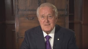 Brian Mulroney : 'The obligation for the prime minister is Canada  above every thing else'