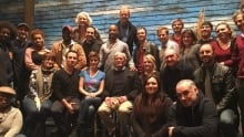 Come From Away cast New York Broadway