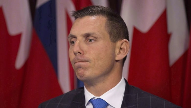 QuickSketch of Ontario PC Leader Patrick Brown
