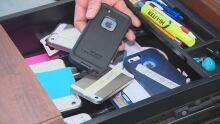 Cellphone drawer