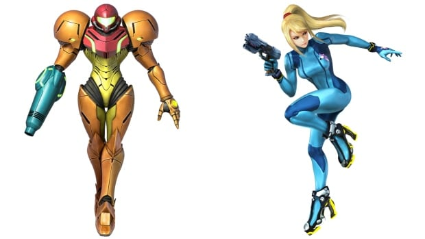 Nintendo Samus collage
