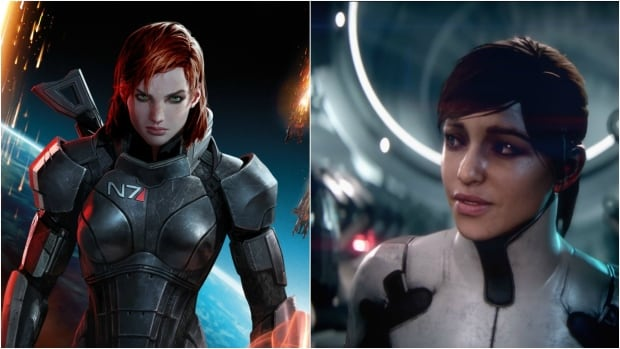 Mass Effect Shepard & Ryder