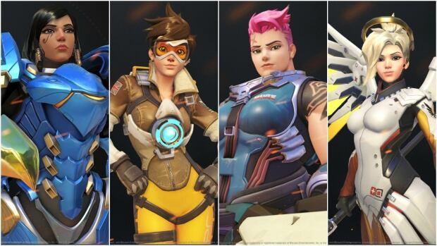 Heroines of Overwatch