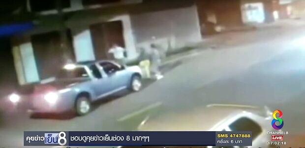 Surveillance Footage Philip Sullivan Truck Attack