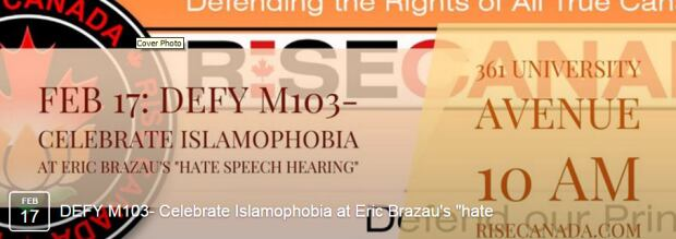 Police investigate anti-Muslim rally outside Toronto mosque and