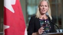 Toronto Environment Minister Catherine McKenna