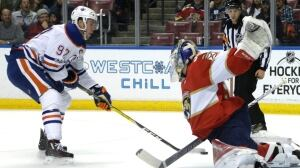 Oilers' D-men lead way in snapping Panthers' 5-game win streak