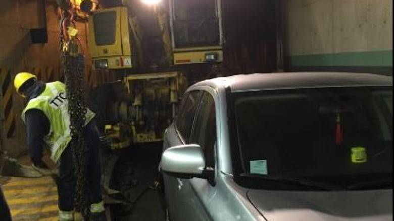 Man fined $425 for driving SUV into streetcar tunnel was 'following