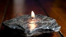 Prana rock candle