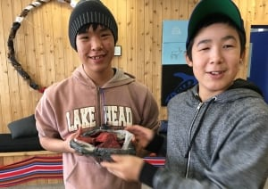 Inuit students at Rideau High School