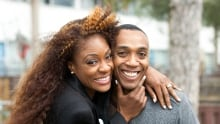 Jully Black and Dwight Drummond