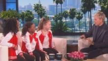 GTA dance trio on Ellen 2