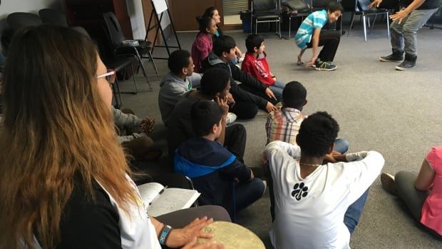 The Building Bridges program brings newcomer and Indigenous teens and tweens together to mount a theatre performance.