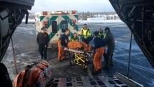 Joe Black rescue Yellowknife airport