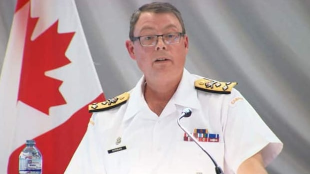 Vice-Admiral Mark Norman was suspended without explanation in January.