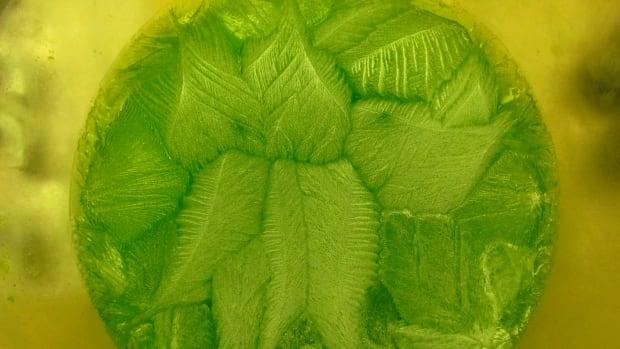 Strange jello pattern
