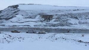 'Tension crack' interrupts Site C dam construction