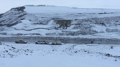 'Tension crack' interrupts Site C dam construction