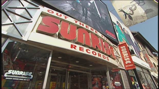 Sunrise Records is now headquartered in Ancaster, Ont., after being bought by Hamilton native Douglas Putman in 2014. So far it hasn't reclaimed its old flagship Toronto store that closed earlier that year, but it's expanding to old HMV locations, and Putman is optimistic about its success.
