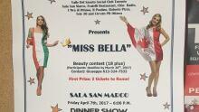 poster miss bella italian beauty contest