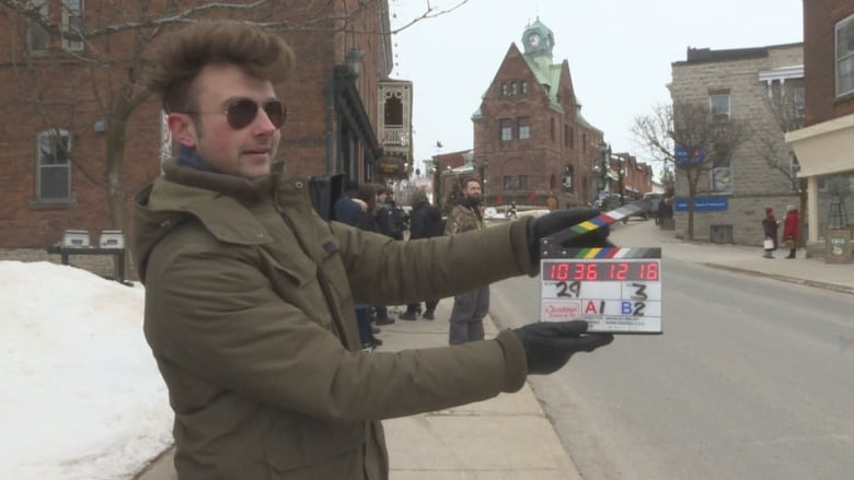 Christmas Festival Of Ice.Movie Makers Flock To Almonte Mini Hollywood Of The Valley